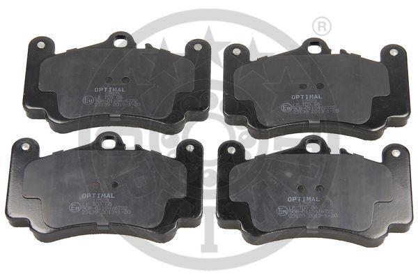 Kit de plaquettes de frein, frein à disque - OPTIMAL - 12523