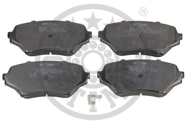 Kit de plaquettes de frein, frein à disque - OPTIMAL - 12525