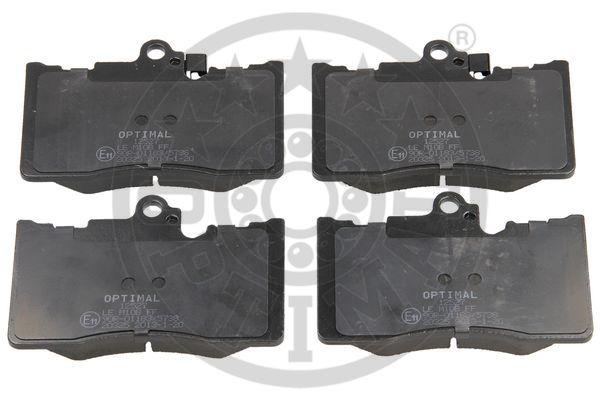 Kit de plaquettes de frein, frein à disque - OPTIMAL - 12527
