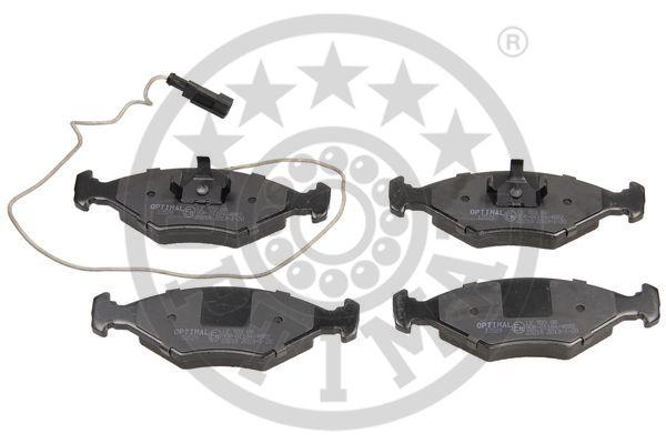 Kit de plaquettes de frein, frein à disque - OPTIMAL - 12529