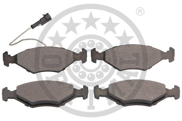 Kit de plaquettes de frein, frein à disque - OPTIMAL - 12530