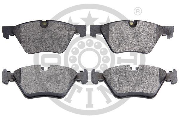 Kit de plaquettes de frein, frein à disque - OPTIMAL - 12538