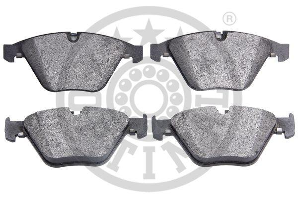 Kit de plaquettes de frein, frein à disque - OPTIMAL - 12539
