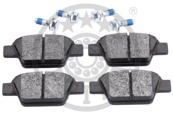 Kit de plaquettes de frein, frein à disque - OPTIMAL - 12541