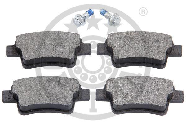 Kit de plaquettes de frein, frein à disque - OPTIMAL - 12542