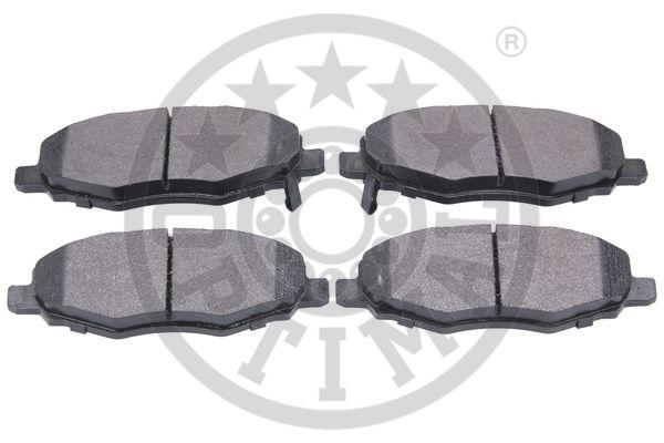 Kit de plaquettes de frein, frein à disque - OPTIMAL - 12544