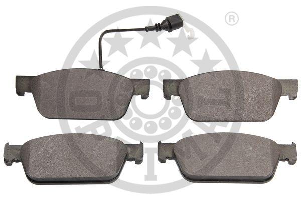Kit de plaquettes de frein, frein à disque - OPTIMAL - 12545