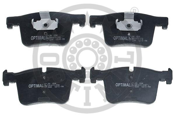 Kit de plaquettes de frein, frein à disque - OPTIMAL - 12546
