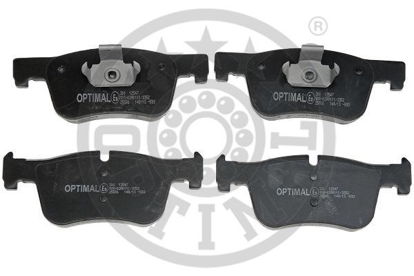 Kit de plaquettes de frein, frein à disque - OPTIMAL - 12547