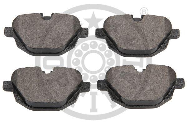 Kit de plaquettes de frein, frein à disque - OPTIMAL - 12548