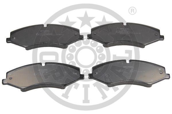 Kit de plaquettes de frein, frein à disque - OPTIMAL - 12549