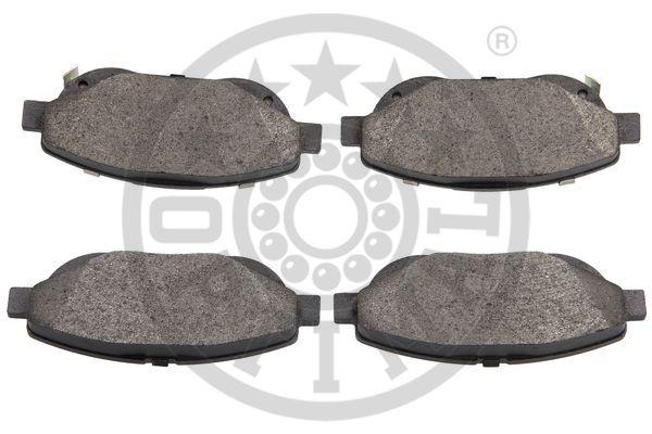 Kit de plaquettes de frein, frein à disque - OPTIMAL - 12551