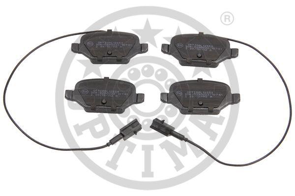 Kit de plaquettes de frein, frein à disque - OPTIMAL - 12553