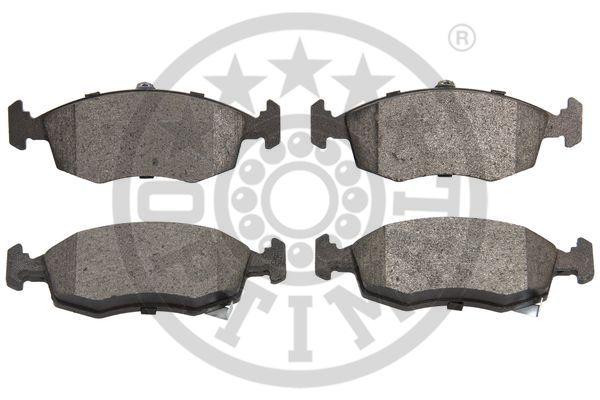 Kit de plaquettes de frein, frein à disque - OPTIMAL - 12555
