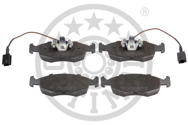 Kit de plaquettes de frein, frein à disque - OPTIMAL - 12556