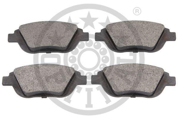 Kit de plaquettes de frein, frein à disque - OPTIMAL - 12558