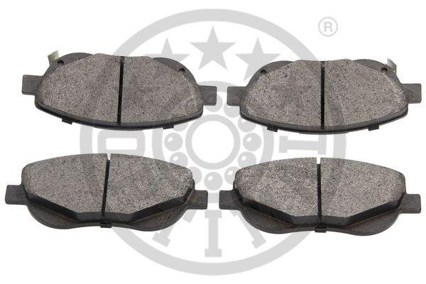 Kit de plaquettes de frein, frein à disque - OPTIMAL - 12559