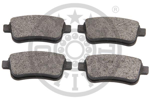 Kit de plaquettes de frein, frein à disque - OPTIMAL - 12561