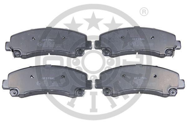 Kit de plaquettes de frein, frein à disque - OPTIMAL - 12562
