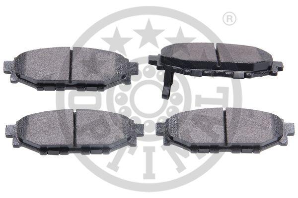 Kit de plaquettes de frein, frein à disque - OPTIMAL - 12563