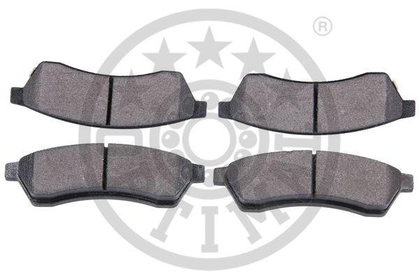 Kit de plaquettes de frein, frein à disque - OPTIMAL - 12564