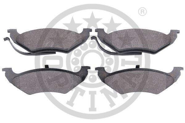 Kit de plaquettes de frein, frein à disque - OPTIMAL - 12571