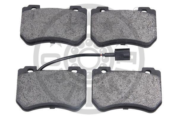 Kit de plaquettes de frein, frein à disque - OPTIMAL - 12573