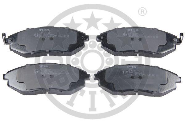 Kit de plaquettes de frein, frein à disque - OPTIMAL - 12574