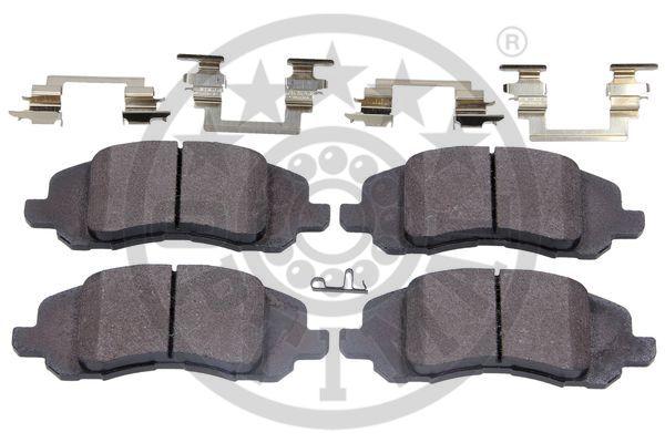 Kit de plaquettes de frein, frein à disque - OPTIMAL - 12577
