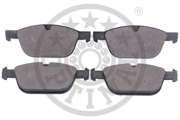 Kit de plaquettes de frein, frein à disque - OPTIMAL - 12581
