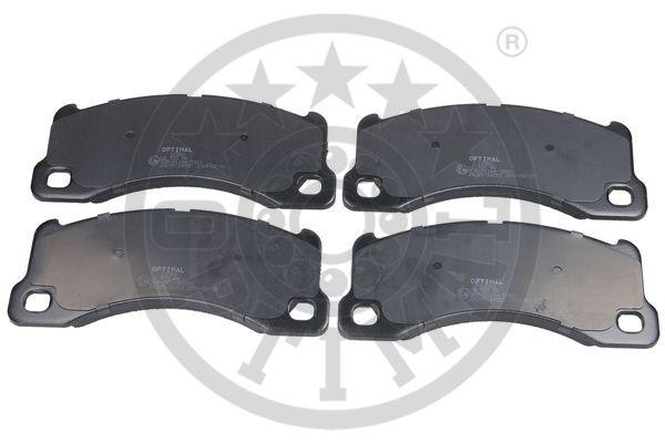 Kit de plaquettes de frein, frein à disque - OPTIMAL - 12583