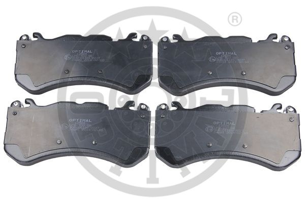 Kit de plaquettes de frein, frein à disque - OPTIMAL - 12584