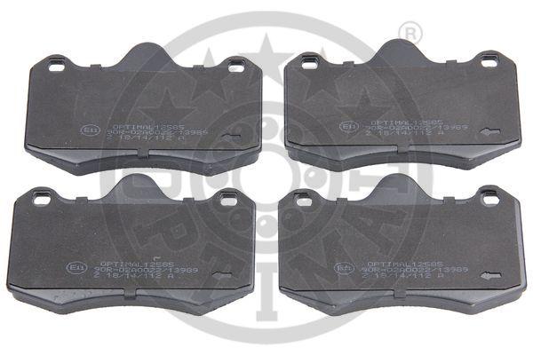 Kit de plaquettes de frein, frein à disque - OPTIMAL - 12585