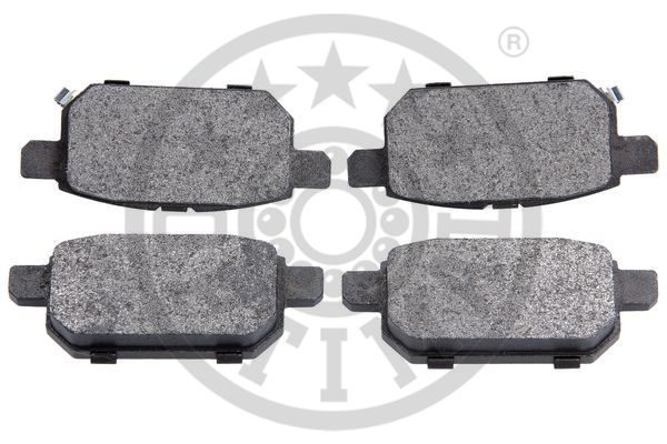 Kit de plaquettes de frein, frein à disque - OPTIMAL - 12587