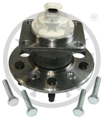 Jeu de roulements de roue - OPTIMAL - 202673
