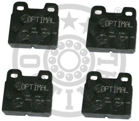 Kit de plaquettes de frein, frein à disque - OPTIMAL - 2138