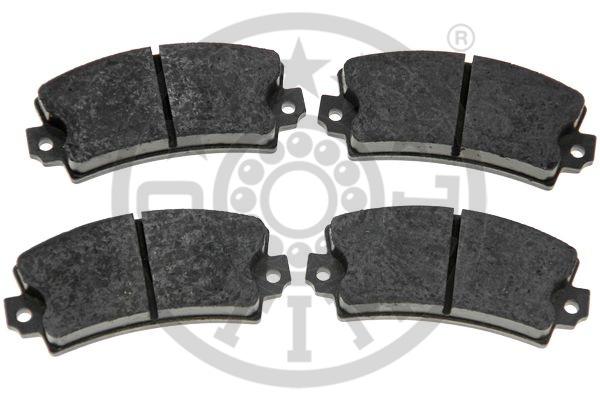Kit de plaquettes de frein, frein à disque - OPTIMAL - 3450
