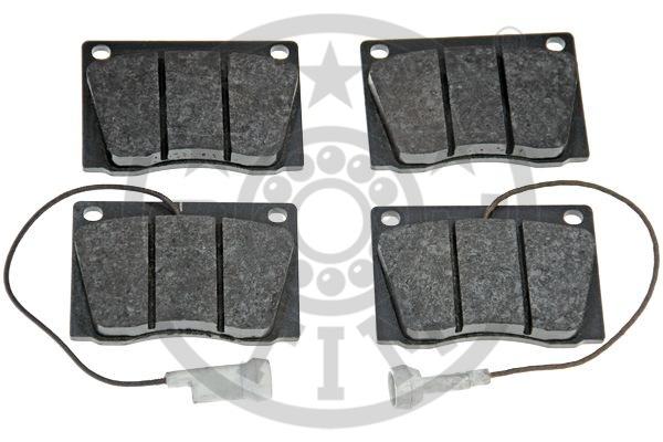 Kit de plaquettes de frein, frein à disque - OPTIMAL - 5130
