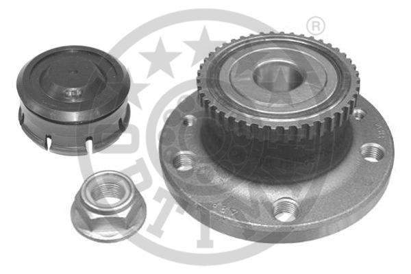 Jeu de roulements de roue - OPTIMAL - 702359