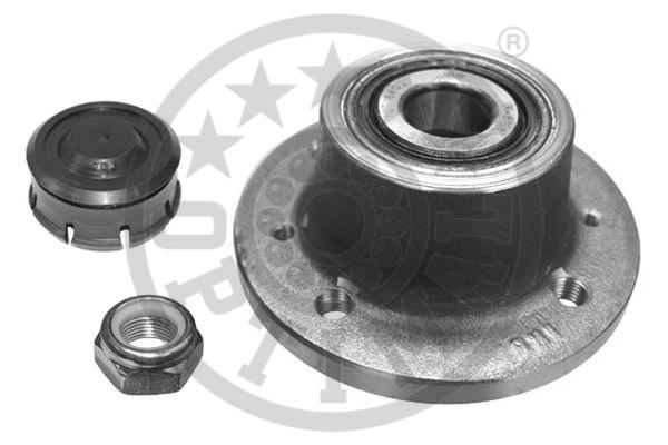 Jeu de roulements de roue - OPTIMAL - 702380