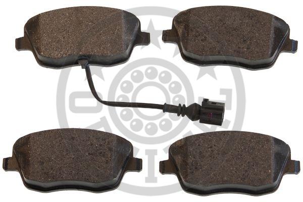 Kit de plaquettes de frein, frein à disque - OPTIMAL - 77501