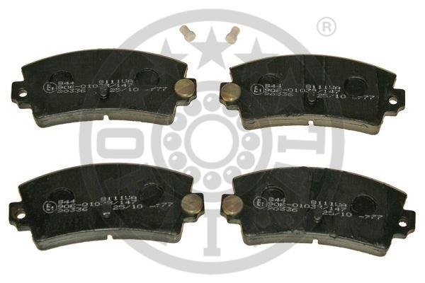 Kit de plaquettes de frein, frein à disque - OPTIMAL - 8111VA