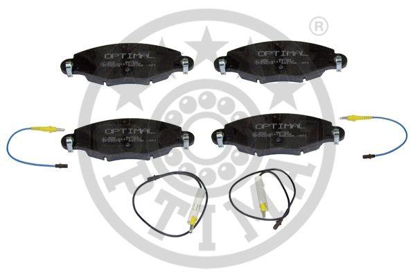 Kit de plaquettes de frein, frein à disque - OPTIMAL - 82704