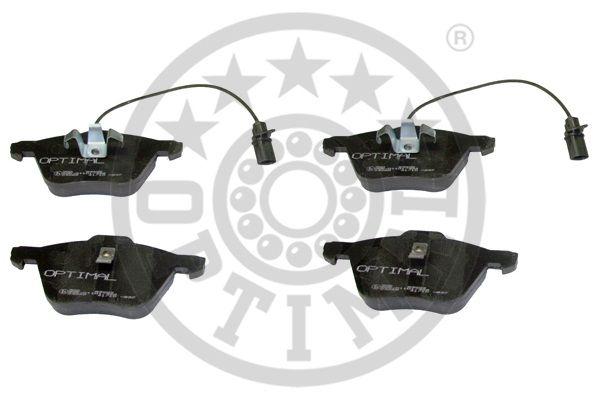 Kit de plaquettes de frein, frein à disque - OPTIMAL - 83602