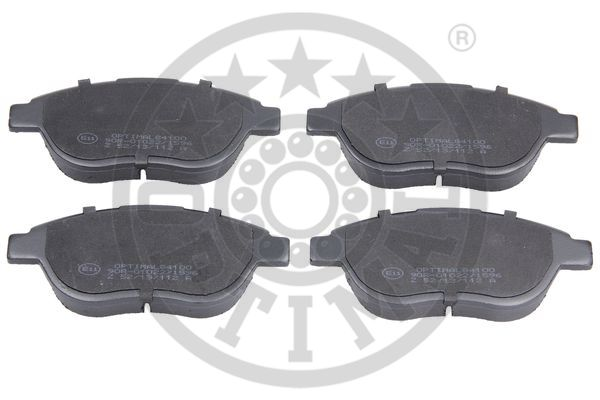 Kit de plaquettes de frein, frein à disque - OPTIMAL - 84100