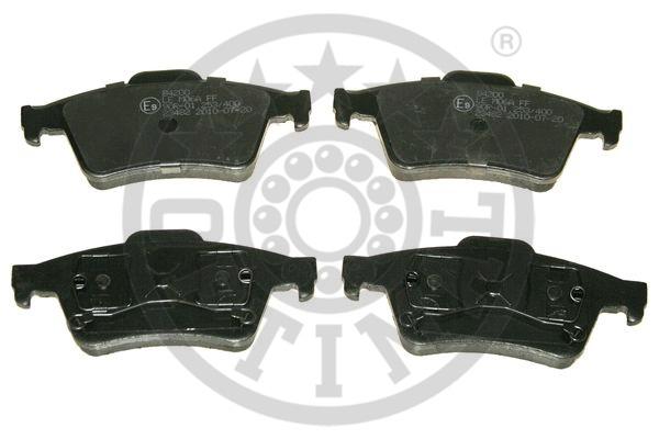 Kit de plaquettes de frein, frein à disque - OPTIMAL - 84200