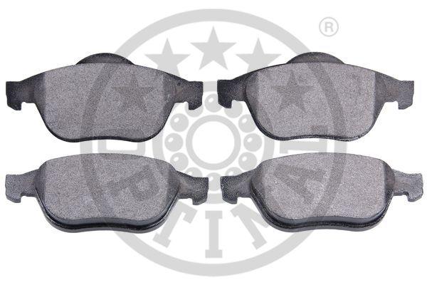Kit de plaquettes de frein, frein à disque - OPTIMAL - 84300