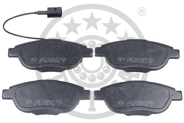 Kit de plaquettes de frein, frein à disque - OPTIMAL - 85901