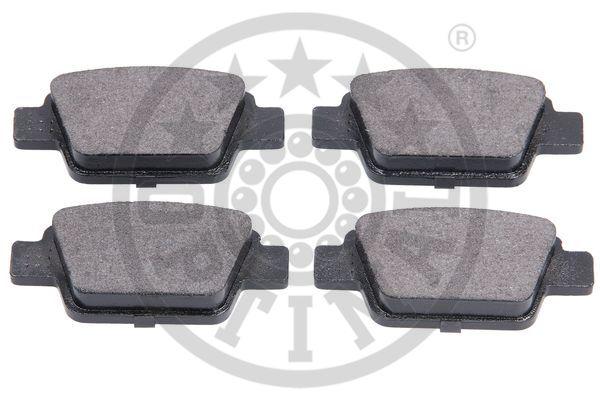 Kit de plaquettes de frein, frein à disque - OPTIMAL - 86100