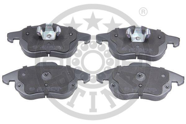 Kit de plaquettes de frein, frein à disque - OPTIMAL - 88800